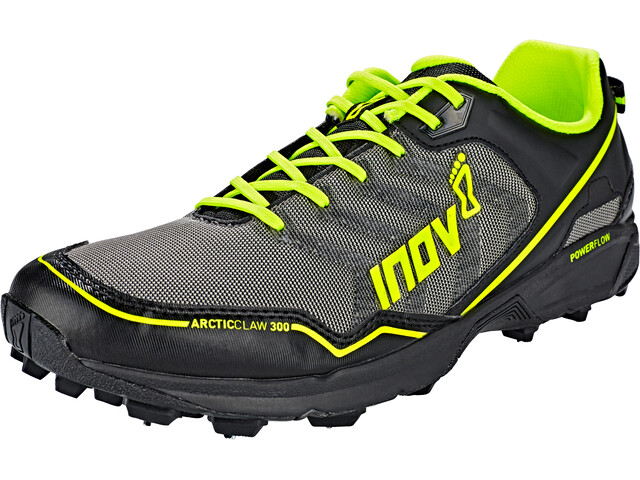 inov-8 Arctic Claw 300 Juoksukengät, grey/black/neon yellow